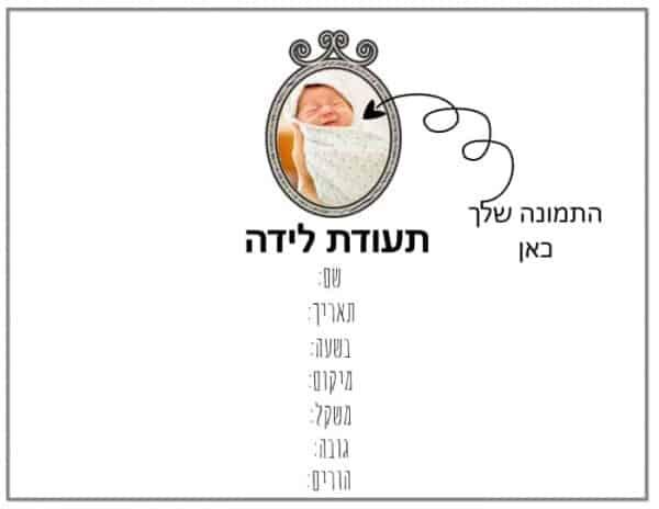 תעודת לידה