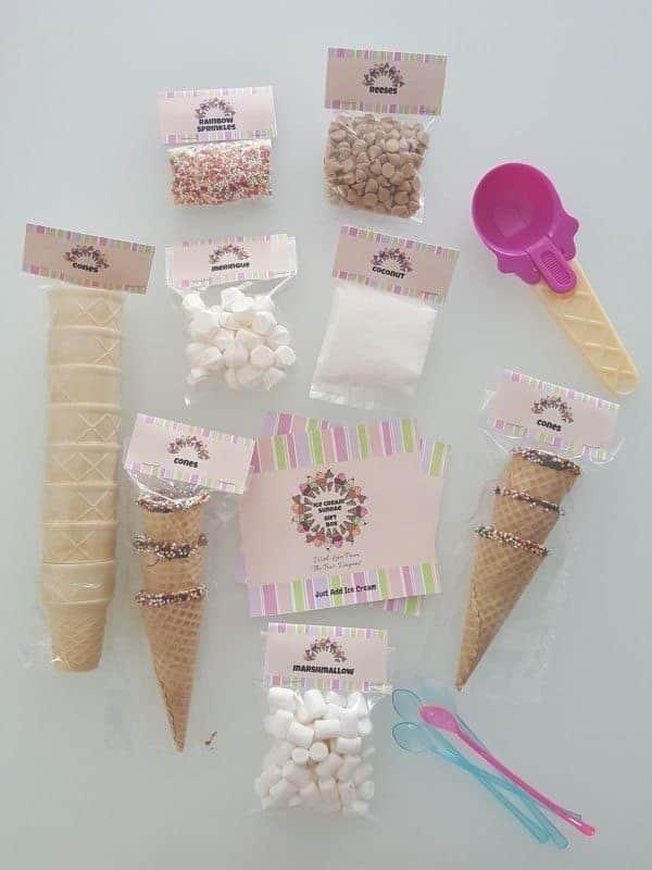 תוספות לגלידה