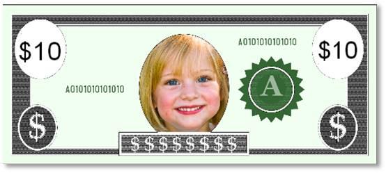 כסף להדפסה