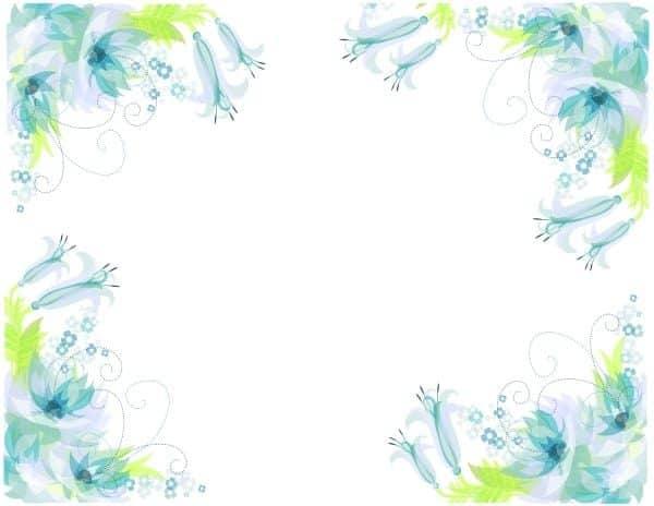 פרחים מצוירים