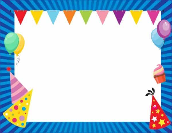 מסגרת ליום הולדת