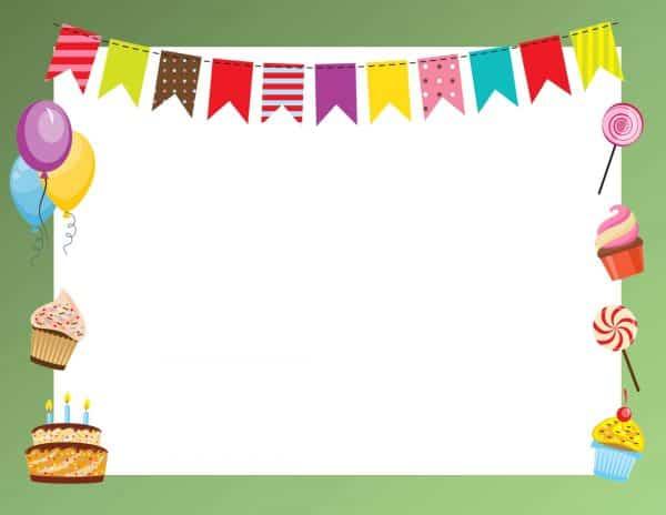 מסגרת יום הולדת