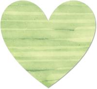 צבע מים ירוק