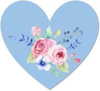 פרחים על לבבות